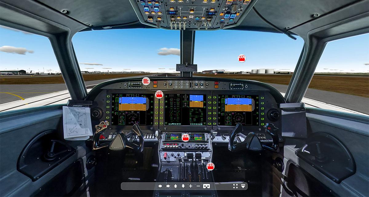 Alsim - Simulateur de vol - Une jolie idée - Agence de réalité virtuelle - Production de photo sphérique et de vidéo 360°