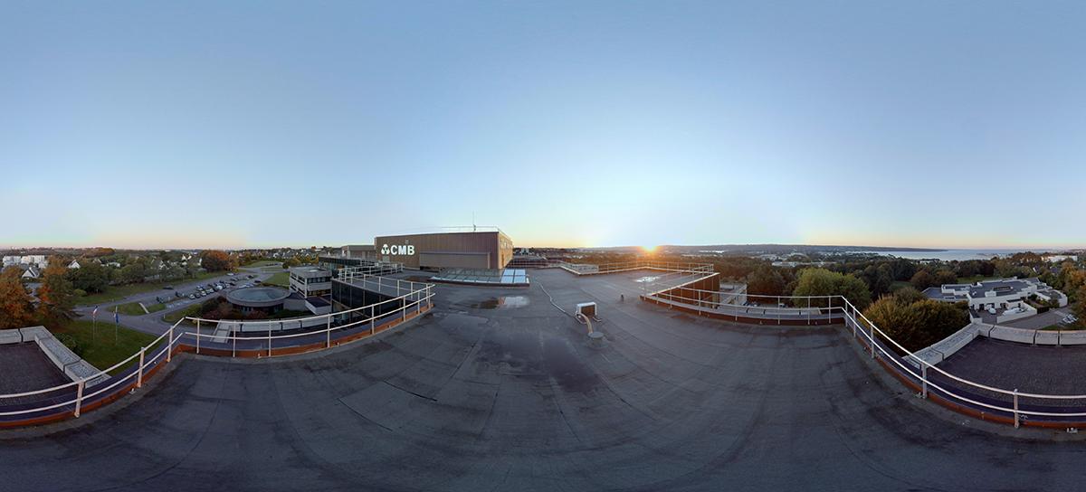 CMB Arkéa - Brest - Une jolie idée - Agence de réalité virtuelle - Production de photo sphérique et de vidéo 360°