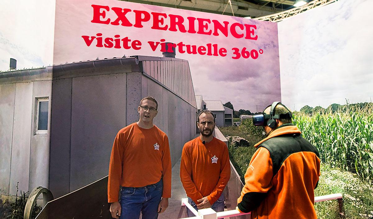 Salon International de l'Agriculture Paris - INAPORC - Élevage porcin - CDMP - Centre Des Métiers du Porc - Une jolie idée - Agence de réalité virtuelle - Production de photo sphérique et de vidéo 360°