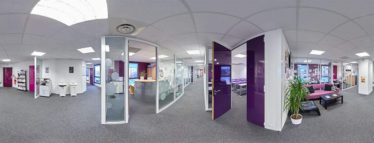 Ecole de commerce ESG Rennes - Une jolie idée - Agence de réalité virtuelle - Production de photo sphérique et de vidéo 360°