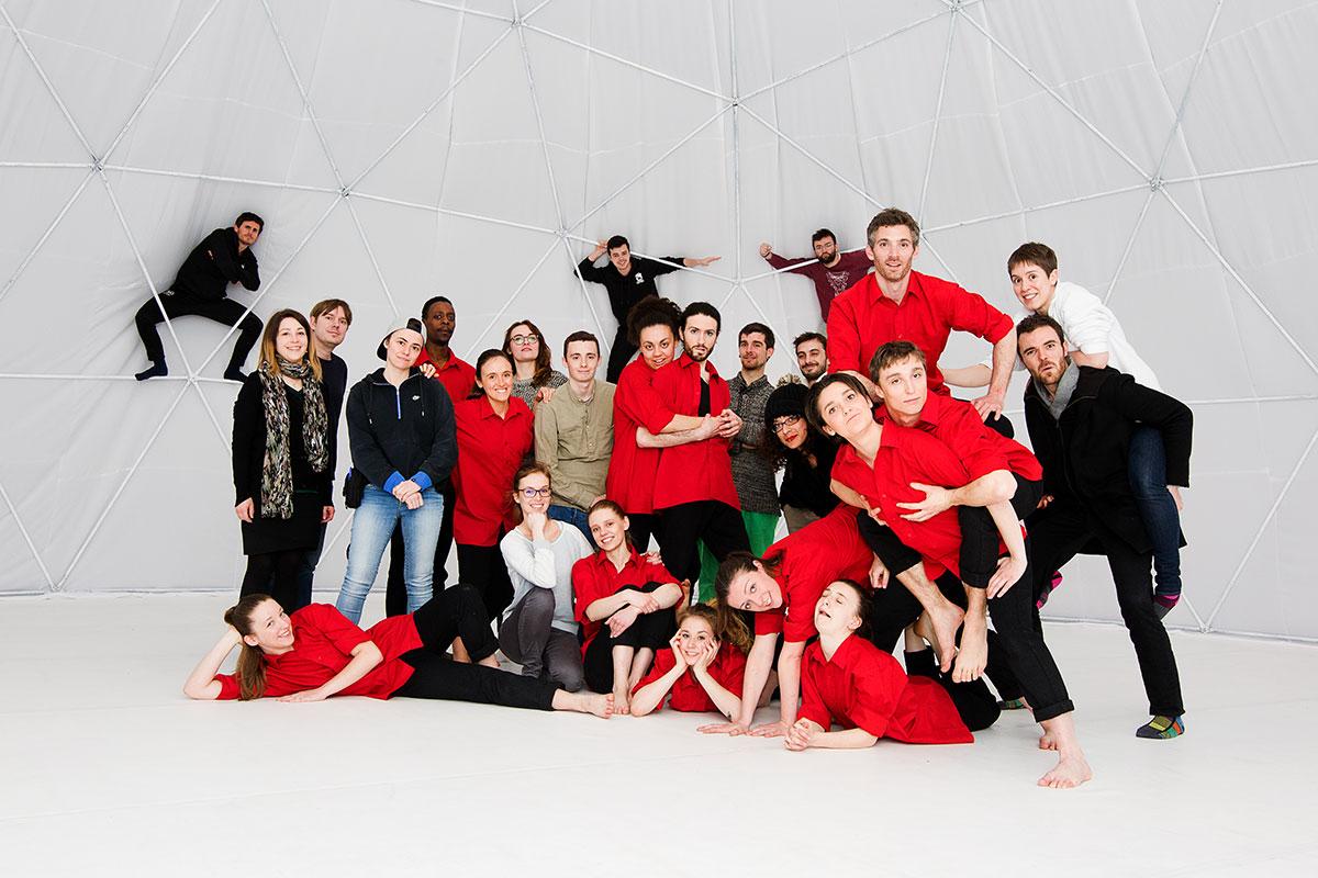 A place in space - Crédits photos : Emilie Guilland - clip danse 360° - Une jolie idée - Agence de réalité virtuelle - Production de photo sphérique et de vidéo 360°